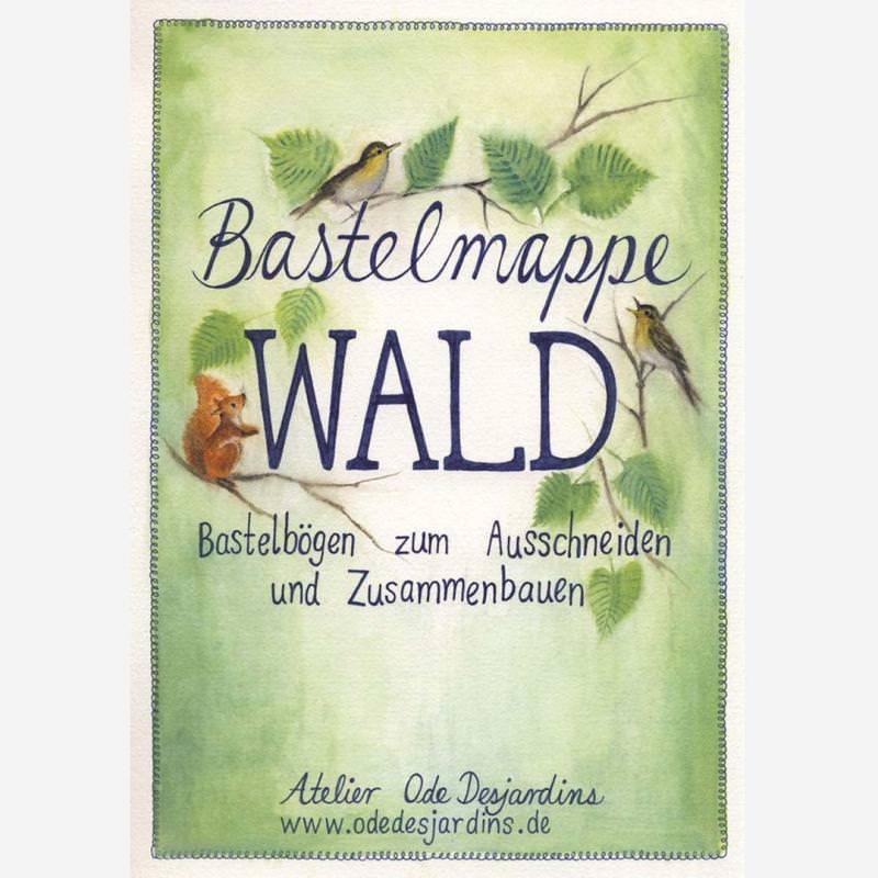 Bastelmappe Wald