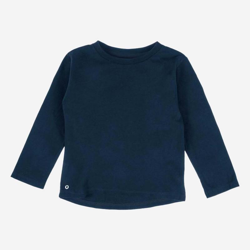 Long Sleeve Baumwolle nachtblau