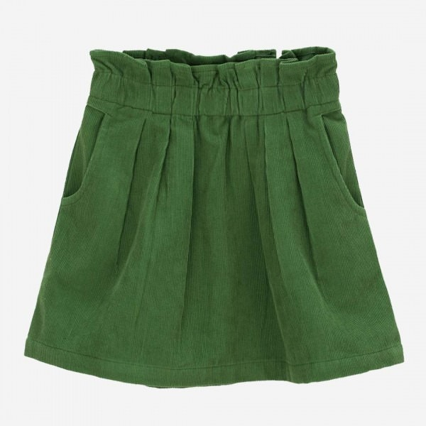 Pleat Rock Cord Green