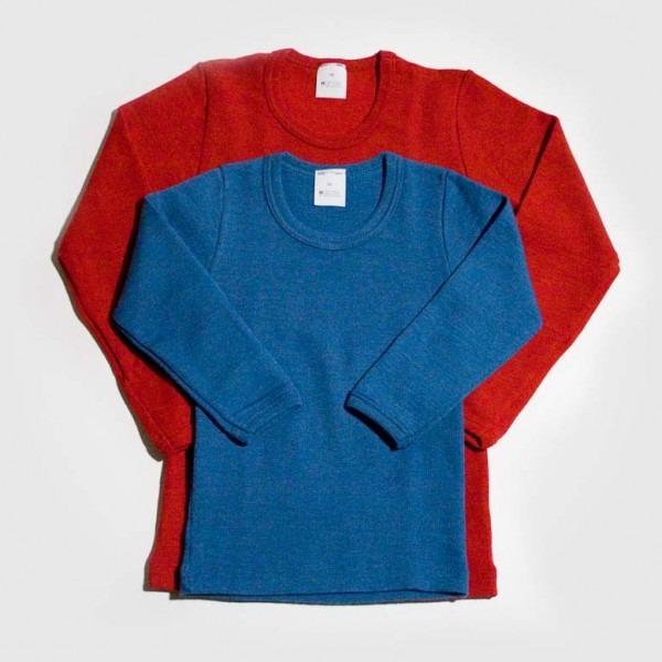 Unterhemd Uni Wolle