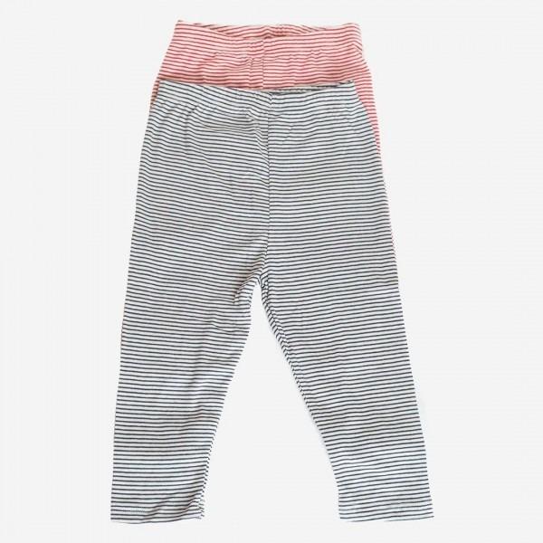 Legging Ringel Baumwolle/Seide