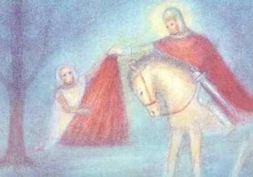 Postkarte St. Martin