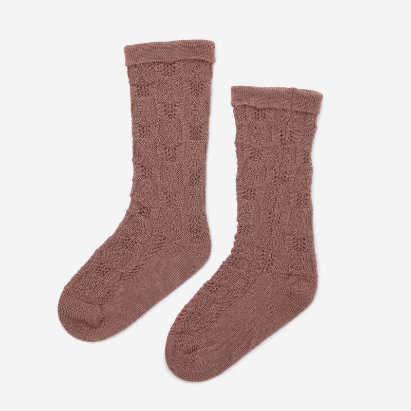 Kinder Socken FIOL von Konges Sløjd aus Merinowolle in burlwood