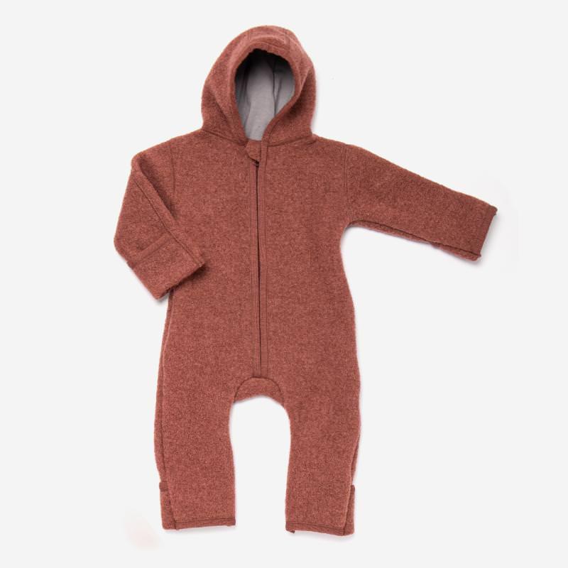 Baby Overall von Halfen aus Wollwalk in marrone