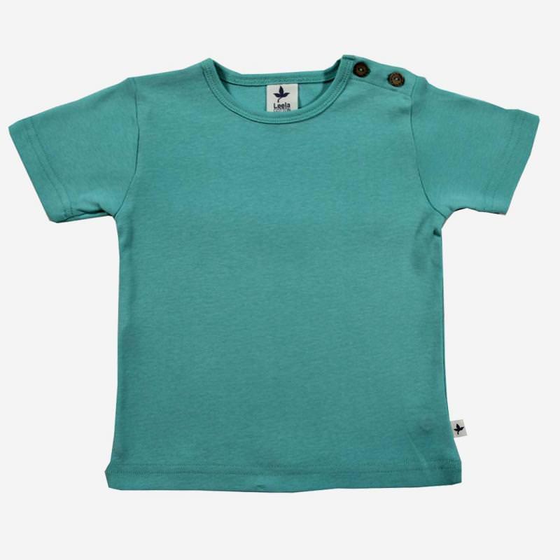 T-Shirt Baumwolle türkis