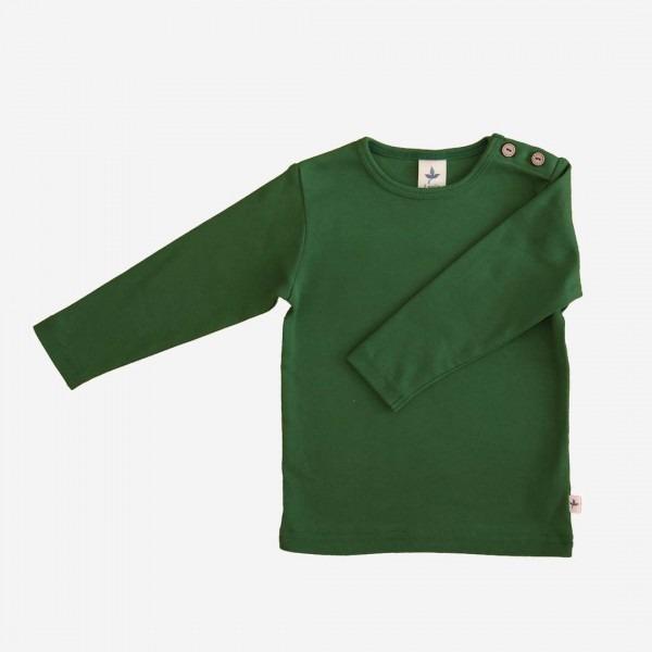 Shirt Baumwolle dunkelgrün