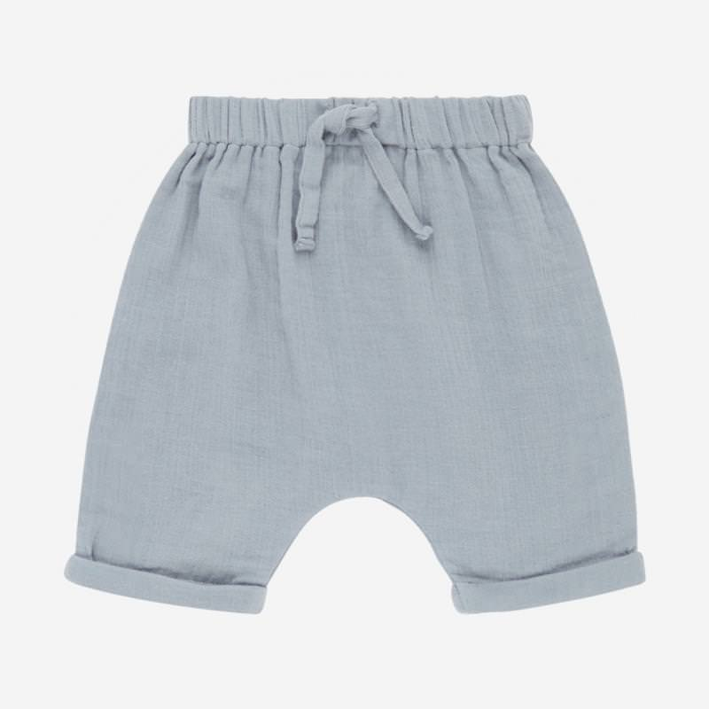 Baby Shorts CHARLIE dusty blue