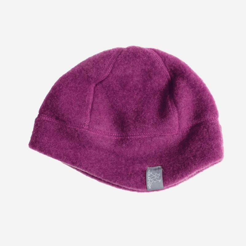 Mütze Milan Wollfleece dahlia-grau