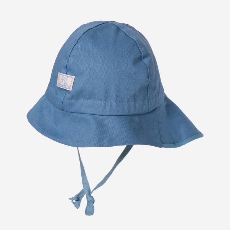Sonnenhut Feuerwehr UV-60 jeans blau