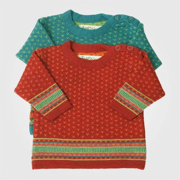 Baby Pullover Wolle