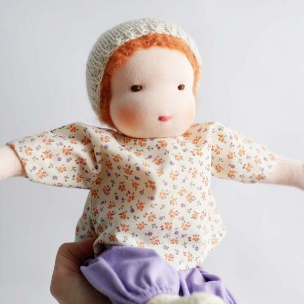 Puppen Junge nach Waldorfart groß