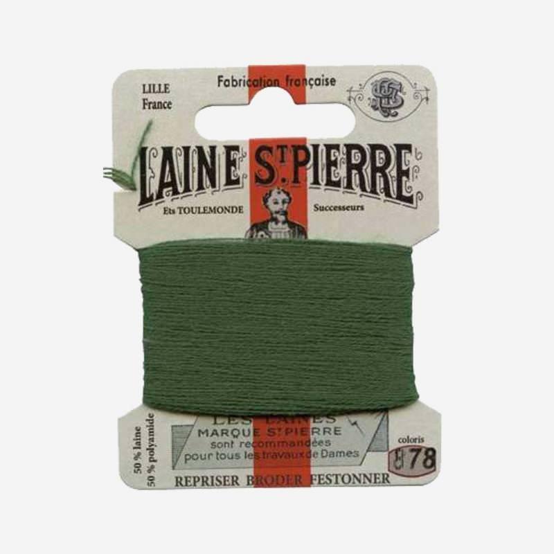 Stopfgarn von Laine Saint-Pierre in wald Farbnummer 878
