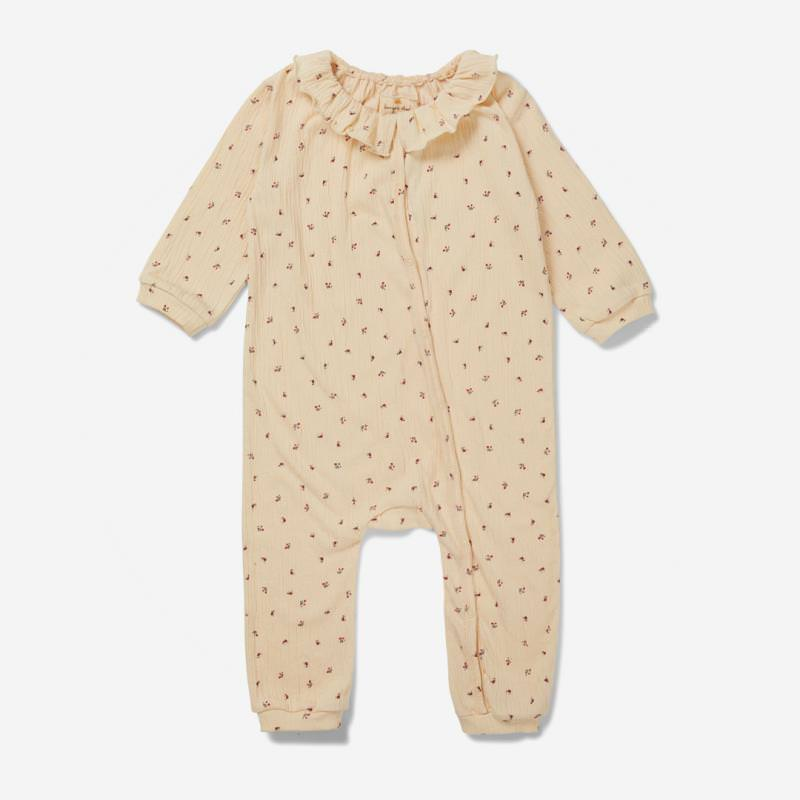 Baby Overall CHLOE bloom red-blue