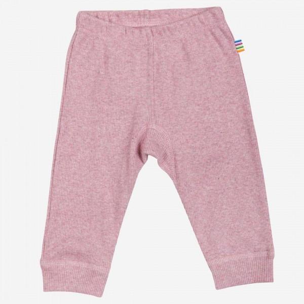 Leggings Baumwolle rosa melange
