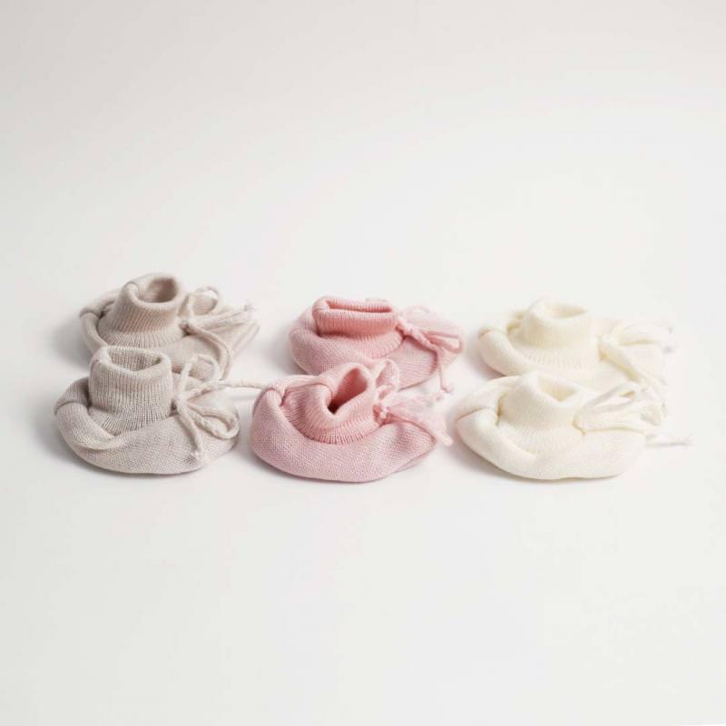Baby Schüchen Wolle/Seide