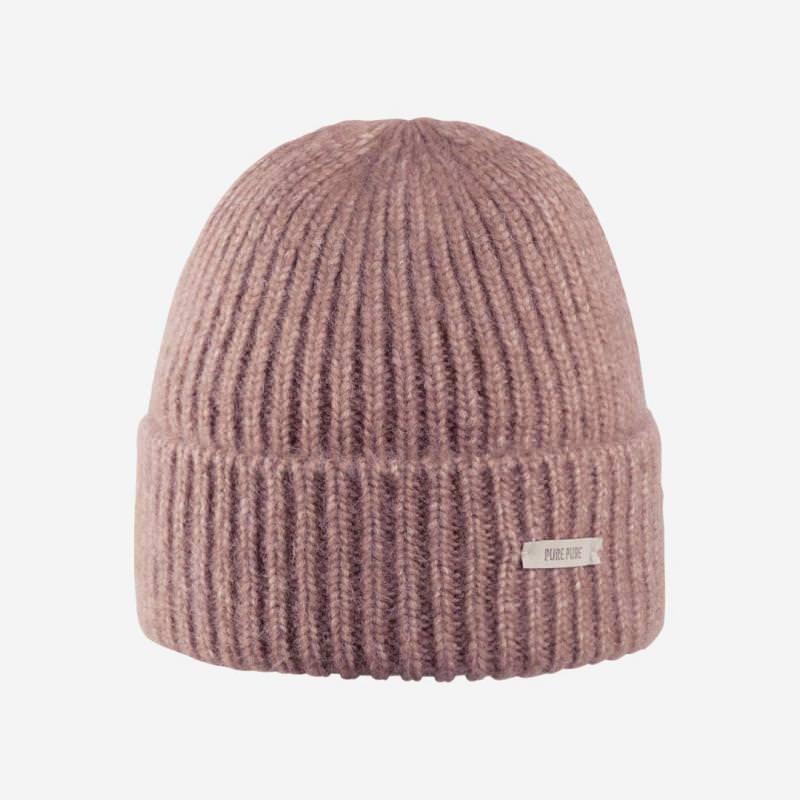 Mütze von Pure Pure Alpaka rosa