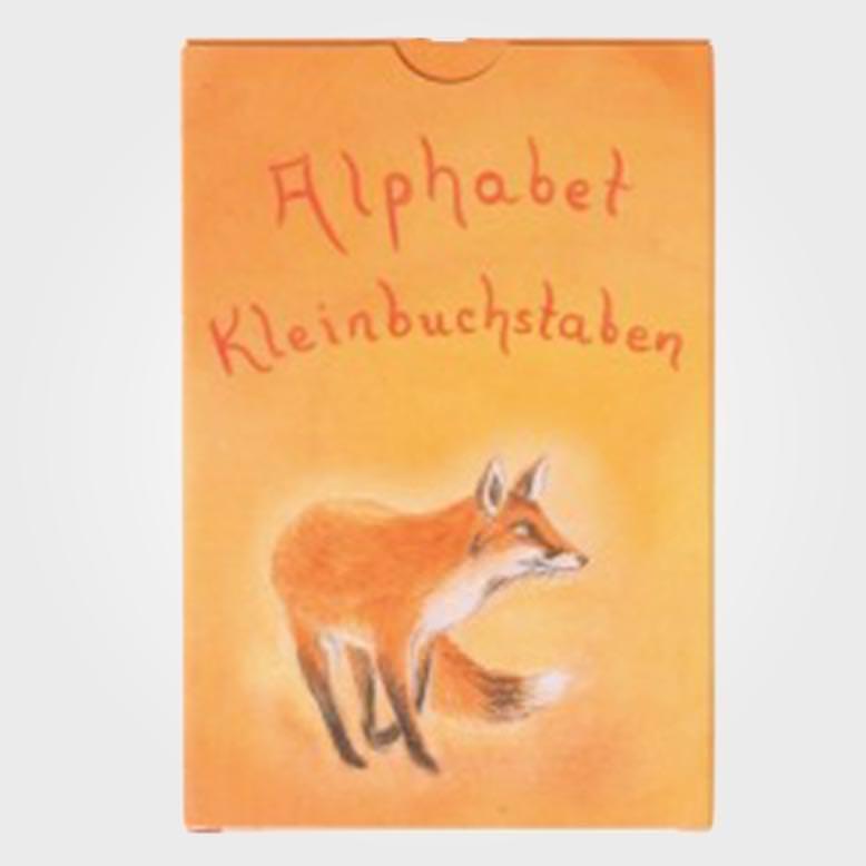 Alphabet Kleinbuchstaben Kartenspiel