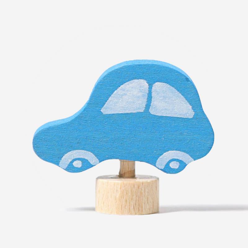 Figurenstecker Auto blau