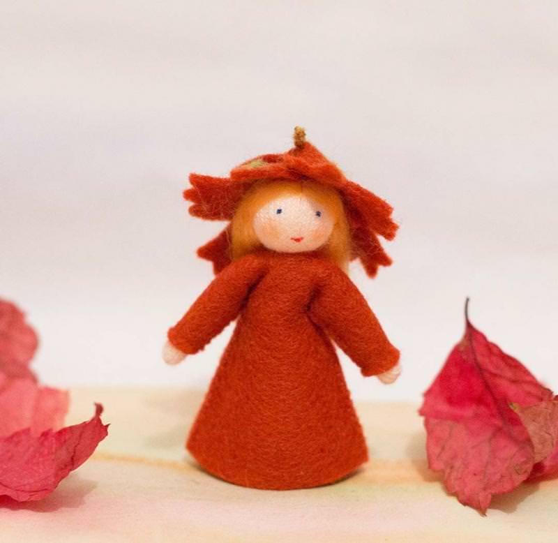 Blumenkind Herbstmädchen