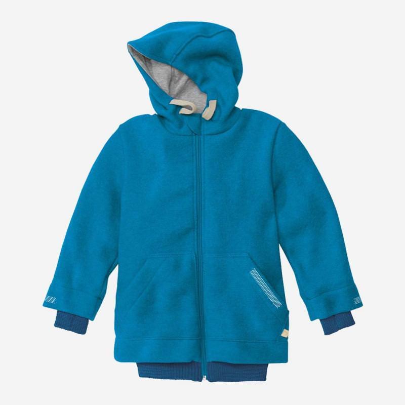 Outdoor-Walkjacke blau