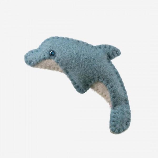 Kleine Filz Freunde Delphin