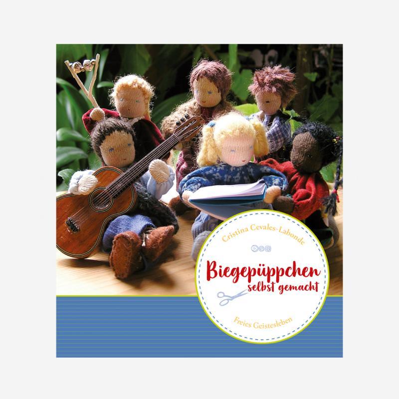 Buch Verlag Freied Geistesleben Biegepüppchen selnbst gemacht Puppenhaus Puppen Waldorf 978-3-7725-2184-3