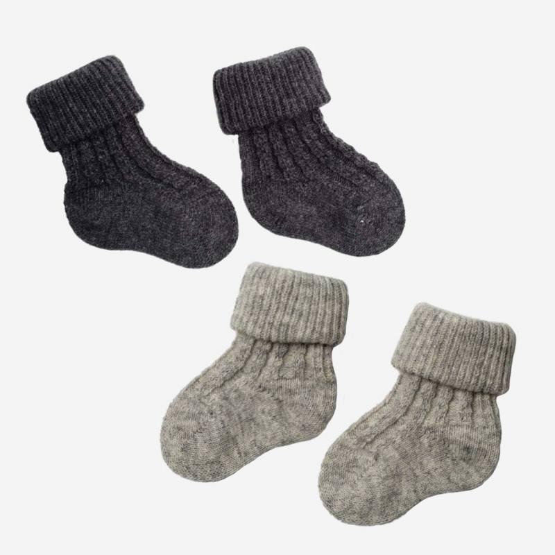 Baby Socken Wolle/Baumwolle