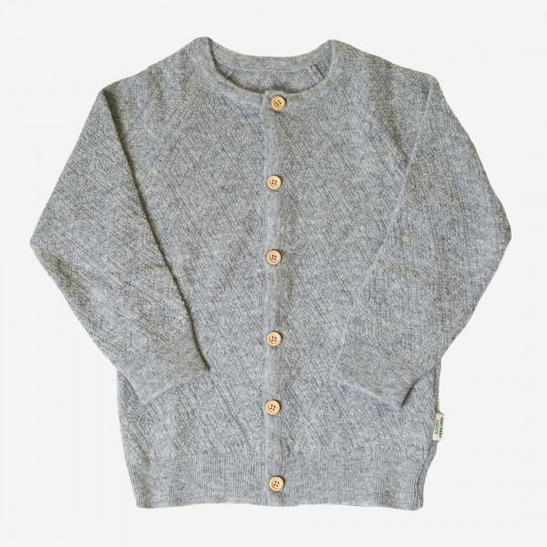Strickjacke Strickmuster Wolle