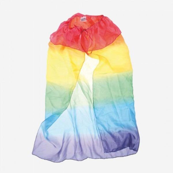 Seidenumhang Regenbogen