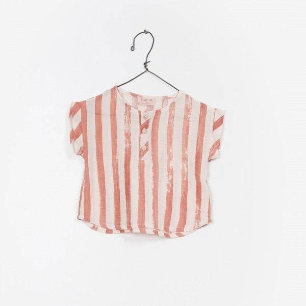 Gewebtes Streifenshirt