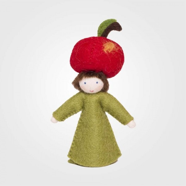 Filzpüppchen Apfel