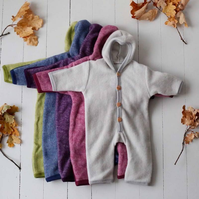 Overall mit Kratzschutz Wolle/Baumwolle-Fleece
