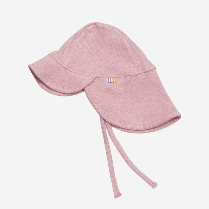 Sommermütze Nackenschutz rosa