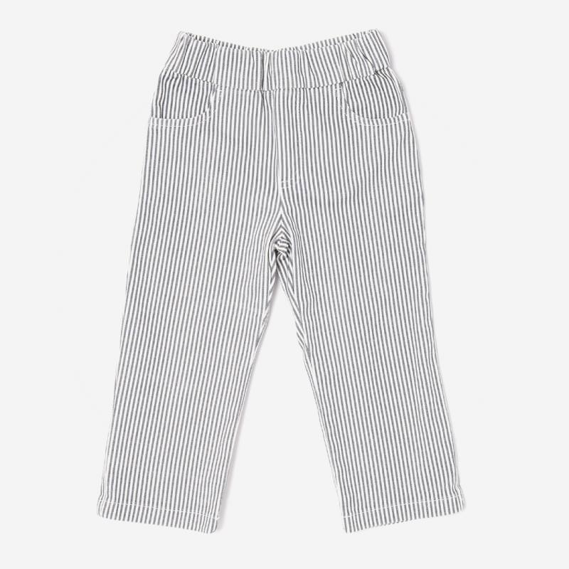 Kinder Hose aus Bio-Baumwolle mit schmalen Streifen