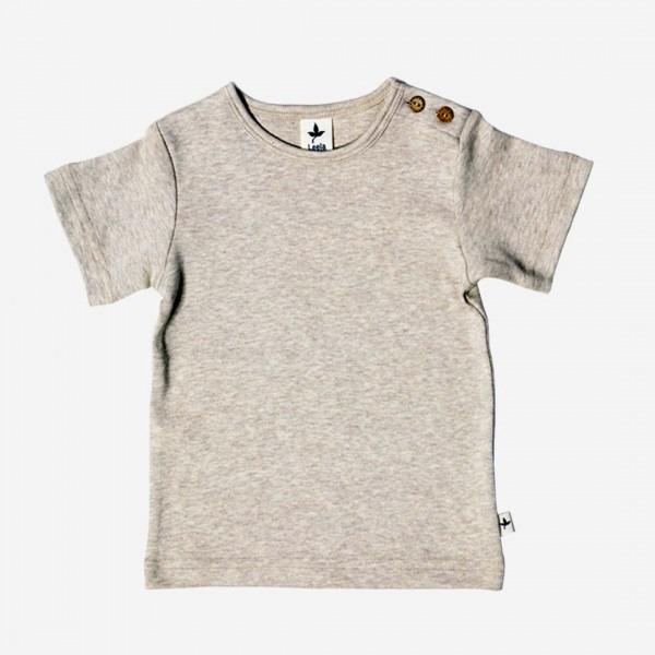 T-Shirt Baumwolle beige melange