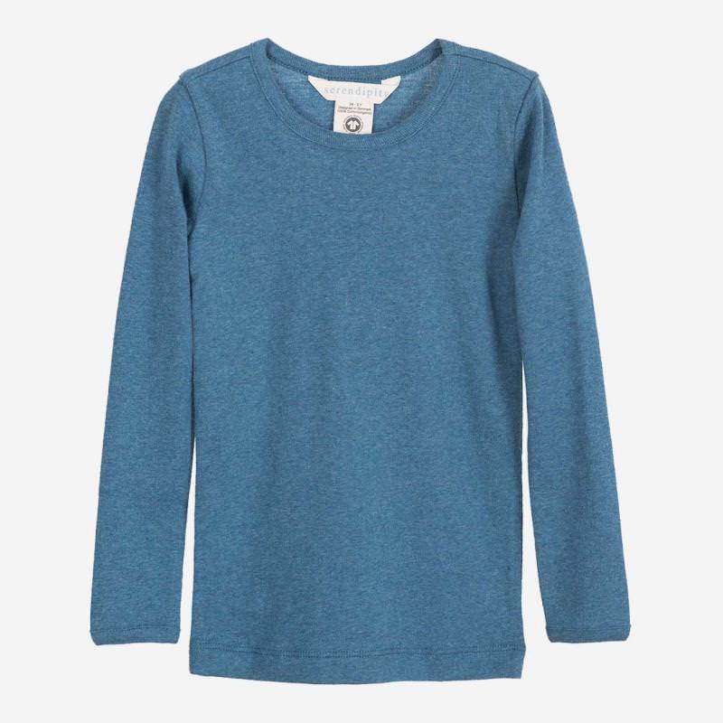 Kinder Shirt Slim von Serendipity aus Bio-Baumwolle in sky