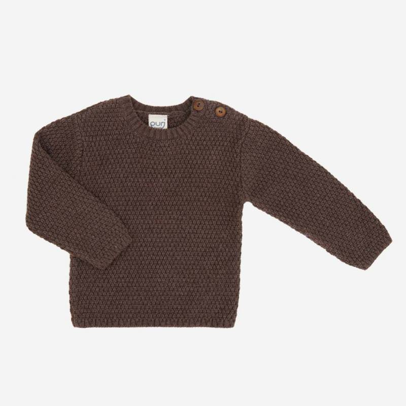 Pullover Struktur Baumwolle/Wolle