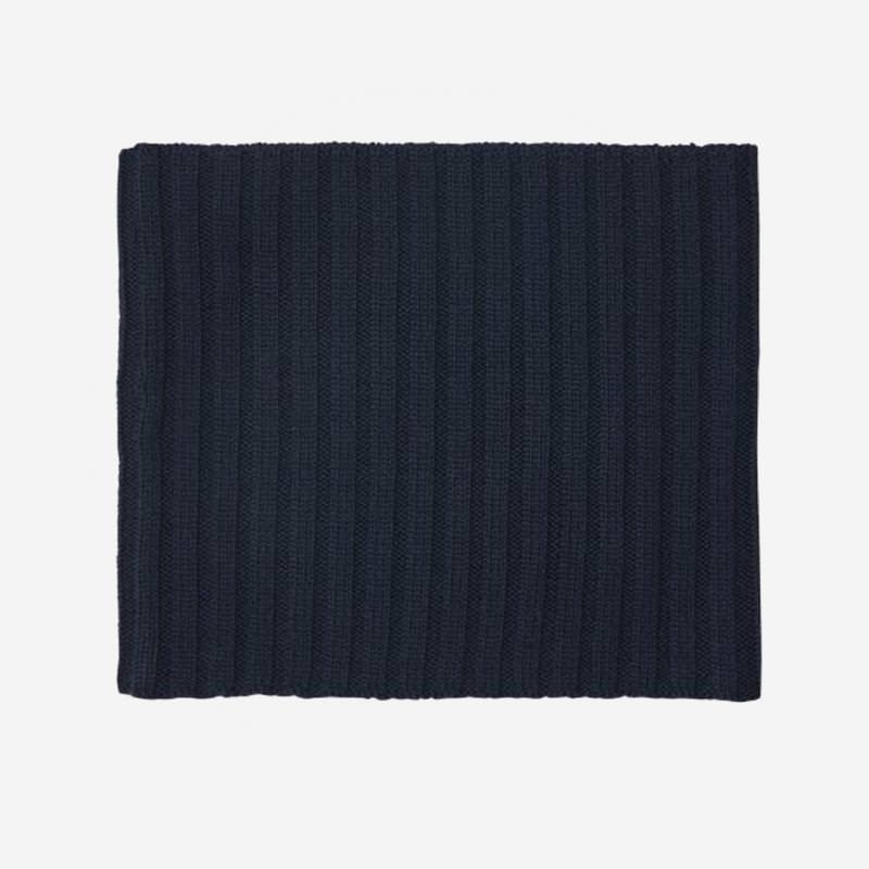Schlauchschal Wolle navy