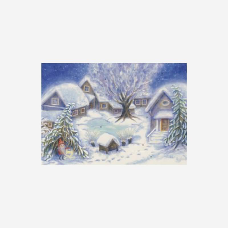 Adventskalender Weihnacht auf dem Hof klein