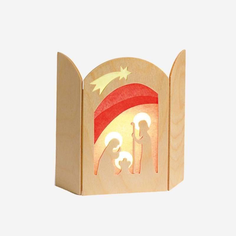 Transparent Christi - Geburt