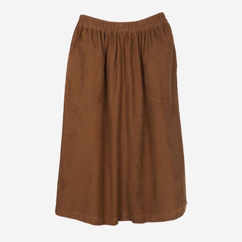 Damen Pocket Skirt cord