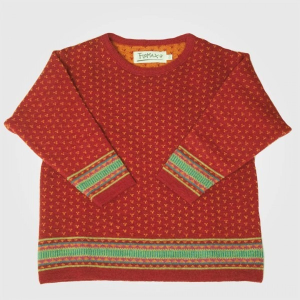 Kinder Pullover Wolle