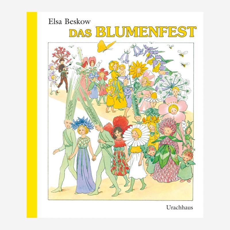 Buch Urachhaus Elsa Beskow Das Blumenfest 978-3-8251-7535-1