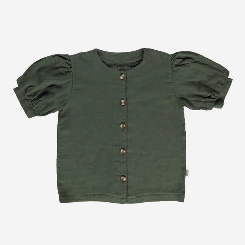 Blouse POIRE forest green