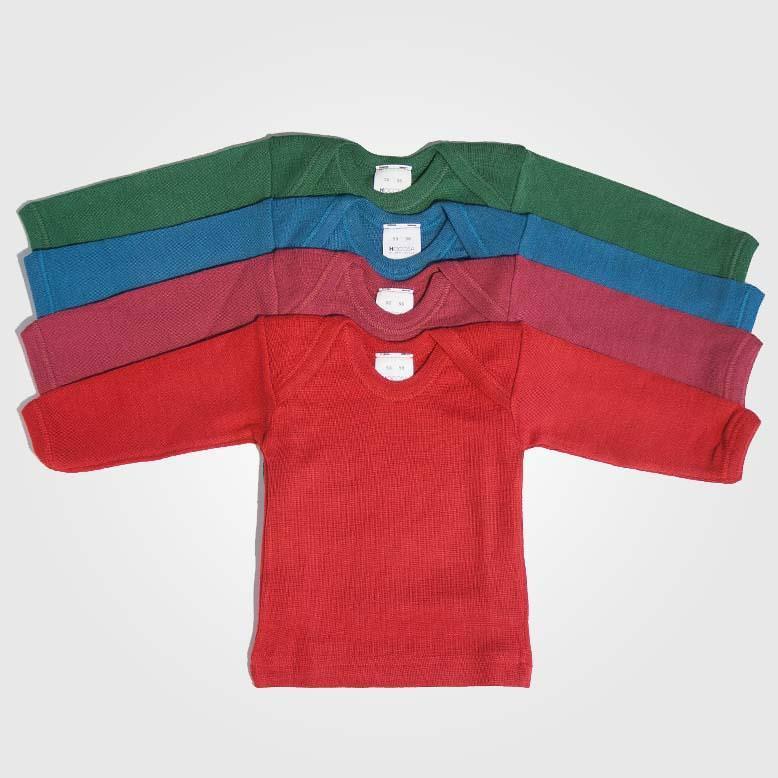 Schlupfhemd Uni Wolle/Seide