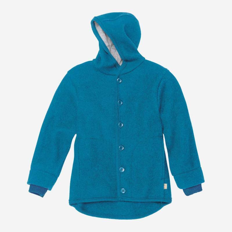 Walk-Jacke blau