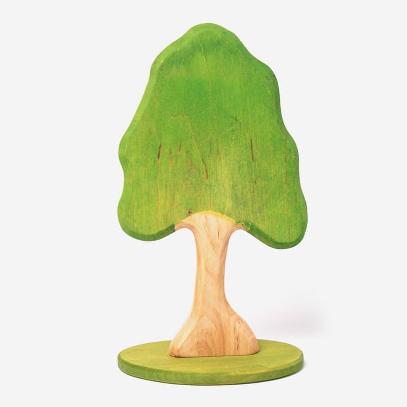 Holz Laubbaum mit Fuß