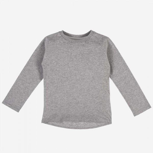 Shirt Baumwolle grau meliert
