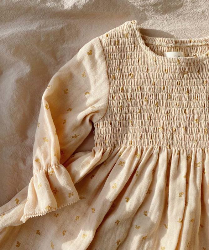 Kinder Kleid ZALIE von Konges Sløjd aus Bio-Baumwolle 2