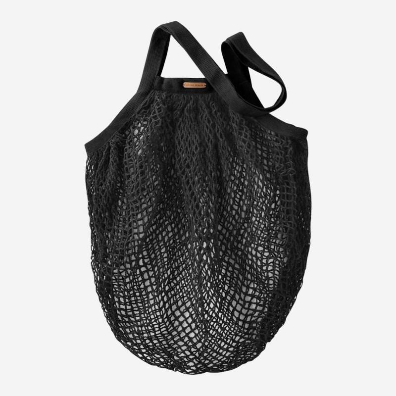 Netztasche aus Baumwolle black